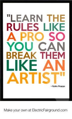 A perfect quote by Pablo Picasso:)   #inspire #encouarge #passion - bellahsoot.com