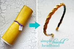 Simple Braided Headband Tutorial!