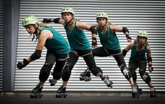 Step By Step: Lateral Jumps for Roller Derby.   I absolutely LOVE Kamikaze Kitten's blog! She breaks basic skills down with the physics of how they're done.