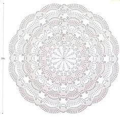 Mandala grande de flor