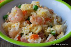 Amplía tu recetario de platos con arroz con estas magníficas propuestas que nos hace la autora del blog COCINERA Y MADRE.