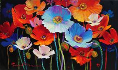 'Felicity' from the Floral Gallery  by artist Simon Bull♥•♥•♥LOVE!