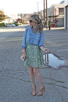 Cupcakes and Cashmere blogstar always has amazing looks. This is one of my most recent personal favs