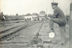 Engenheiro Gutierrez -- Estações Ferroviárias do Paraná - O pátio da estação de Engenheiro Gutierrez, por volta de 1964