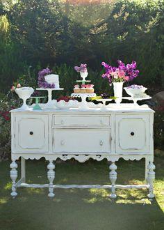 Pretty Vintage Table  - Dessert Table