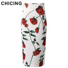 Large Roses Floral Printed Pencil Skirt Only $19.99 => Save up to 60% and Free Shipping => Order Now! #Skirt outfits #Skirt steak #Skirt pattern #Skirt diy #skater Skirt #midi Skirt #tulle Skirt #maxi Skirt #pencil Skirt