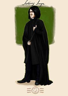 Order of the Phoenix - Severus Snape by aidinera on DeviantArt