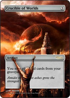 Magic The Gathering Crucible of Worlds Proxy