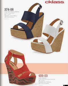 Zapatos Plataforma Cklass PV 2015. Lindos modelos juveniles.
