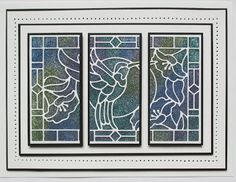 03/06/2017. Hi bloggers! I designed the new Stained Glass die collection so there would be something to make quick, beautiful cards, but they are ...
