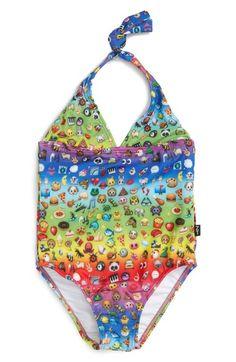 bd2d473ca7b75 Terez One-Piece Halter Swimsuit (Toddler Girls   Little Girls)