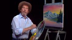 Bob Ross - The Footbridge (Season 24 Episode Oil Painting Lessons, Painting Videos, Peintures Bob Ross, Bob Ross Art, Bob Ross Paintings, The Joy Of Painting, Mountain Paintings, Pictures To Paint, Painting Techniques