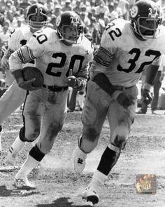Rocky Bleier 1975 Action Photo Print x Old Football Players, Football Fans, School Football, Pittsburgh Steelers Football, Pittsburgh Sports, Steelers Images, Americana Retro, City Super, Steeler Nation