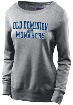 8dda113408d1 Product: Old Dominion University Monarchs Women's Crewneck Sweatshirt Old  Dominion University, College Essentials,