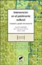 G 0-30/165 - Intervención en el patrimonio cultural: creación y gestión de proyectos.