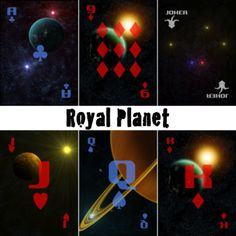 Make custom playing cards at The Game Crafter! Choose a variety of styles and upload your own custom image on the back of the cards. Custom Playing Cards, Poker, Planets, Game, Create, How To Make, Gaming, Toy, Games