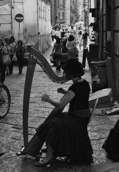 Harp...love this musical instrument...