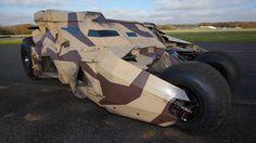 Top Gear grabs a ride in the Batmobile