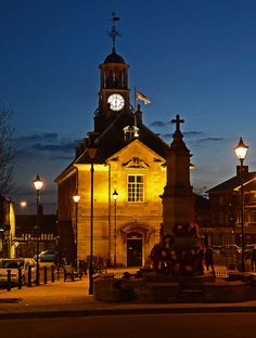 September will be your very last chance to see Brackley Town Hall in Northamptonshire before it closes for regeneration - see the hidden treasures and take a tour of the attic! Hidden Treasures, Town Hall, Queen Anne, Old Town, Big Ben, Places Ive Been, Britain, England, Photo And Video
