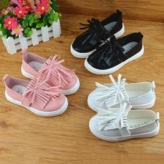 Aliexpress.com : Buy Kids shoes 2016 spring girls leather shoes princess tassel Flats children shoes girls cute sneakers for toddler girls trainers from Reliable sneaker skate shoes suppliers on WESAY JESI W Co. Ltd. Store