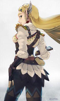 Zelda (Breath of the Wild) - Zelda no Densetsu: Breath of the Wild - Image - Zerochan Anime Image Board The Legend Of Zelda, Legend Of Zelda Breath, Princesa Zelda, Botw Zelda, Elfa, Skyward Sword, Link Zelda, Twilight Princess, Breath Of The Wild