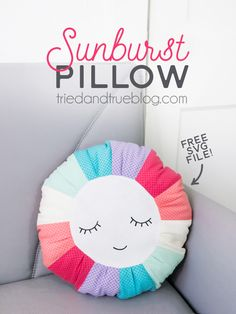Sunburst Pillow Free