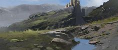 ArtStation - Darken Pass, Mark Kent