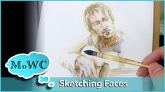 Sketching a head study in Watercolor. Here's how I approach it. Graphicstock…