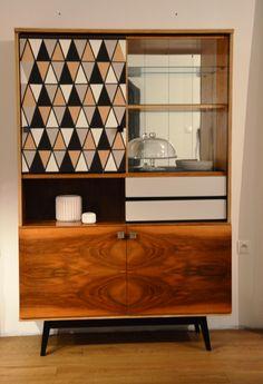 retro modern cabinet, restoration, wallpaper, retro furniture,