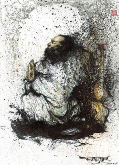 My name is Chen Yingjie (Aka) Hua Tunan. I was born in 1991 in Foshan, Guangdong. I am a Graffiti artist and Painter.