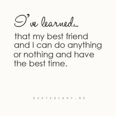 Best Friend #Quote
