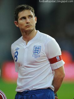 Frank Lampard, Caps as Captain 3 game as Captain Total Caps 103 England Football Players, England National Football Team, England Players, National Football Teams, Football Icon, Best Football Team, Football Soccer, American Football, American Sports