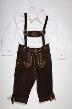 #Kinderlederhose und Hemd