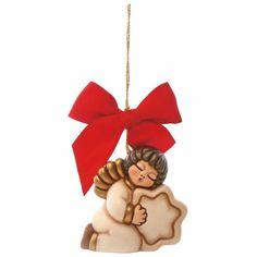 Addobbo grande angelo Christmas Ornaments, Disney Princess, Holiday Decor, Disney Characters, Angelo, Grande, Home Decor, Art, Art Background