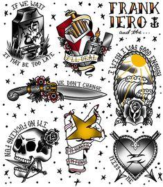Emo Tattoos, Badass Tattoos, Sleeve Tattoos, Tattos, My Chemical Romance, Tattoo Sketches, Tattoo Drawings, Tatuagem Old Scholl, Full Tattoo