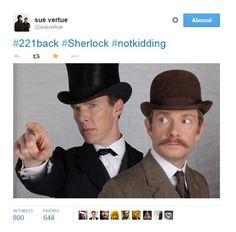 Première photo du 'Sherlock Special'