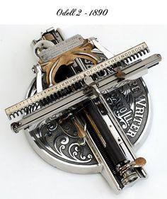 Antique Typewriters - Odell 2 - 1890.
