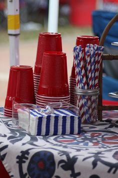 Tailgating in the Grove at Ole Miss in Oxford, MS