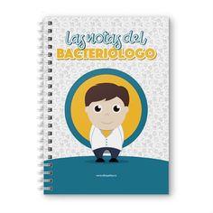 Cuaderno XL - Las notas del bacteriólogo, encuentra este producto en nuestra tienda online y personalízalo con un nombre. Notebook, Cover, Notebooks, Report Cards, Store, The Notebook, Exercise Book