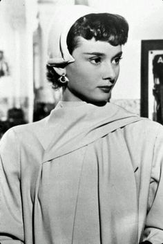 Audrey Hepburn during the production of Monte Carlo Baby
