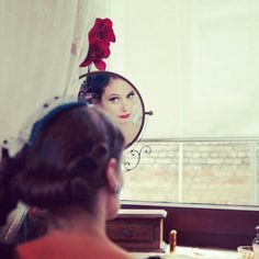 "Shooting for a german vintage magazine called ""Der Vintage Flaneur""  Photo: Laubertphoto Make up: me, myself & I"