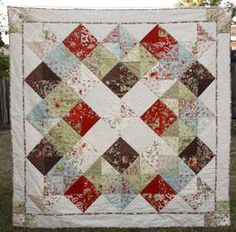 Granny's Quilt Pattern Download by Cora's Quilts now available at connectingthreads.com