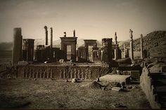 Palace of Darius Persepolis,actual Iran 520-510 BC