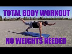 Total Body Workout - No Weights Needed - YouTube