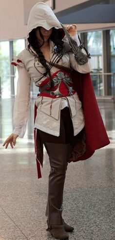 Female assassin cosplay! this is SO going to be my halloween costume next year!!!! FTW!!! #AssassinsCreed