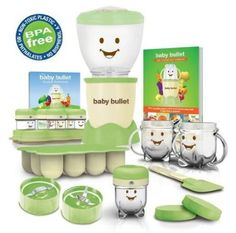 Baby Bullet Complete System - I would absolutely love to have one of these! I'm going to be making my own baby food this time around :) Hint hint to gifters out there LOL