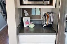 I need to organize the table by the front door like this.