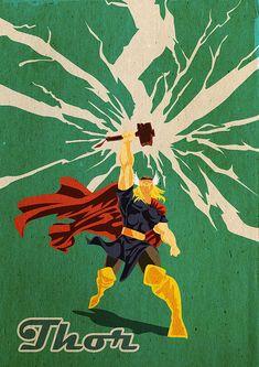 Marvel Comics Fan Art by Robert Obert