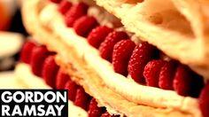 Raspberry Millefeuille - Gordon Ramsay - YouTube