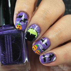 Witches Brew Nails (using The Little Lacquer Bean ), more...